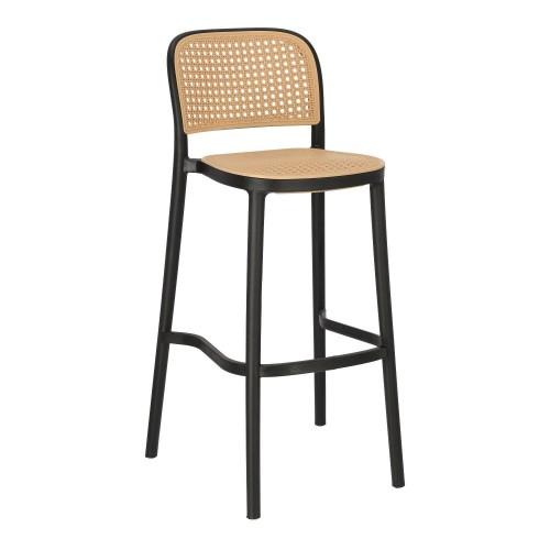 Krzesło barowe Antonio czarne