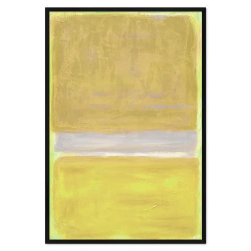 Obraz Abstrakcja Czarna Limonka 2