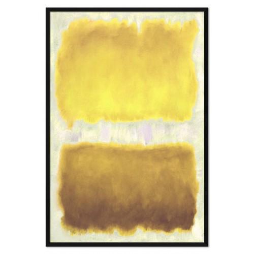 Obraz Abstrakcja Czarna Limonka 3