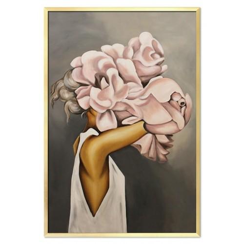 Obraz Abstrakcja Twarz Kwiat 13