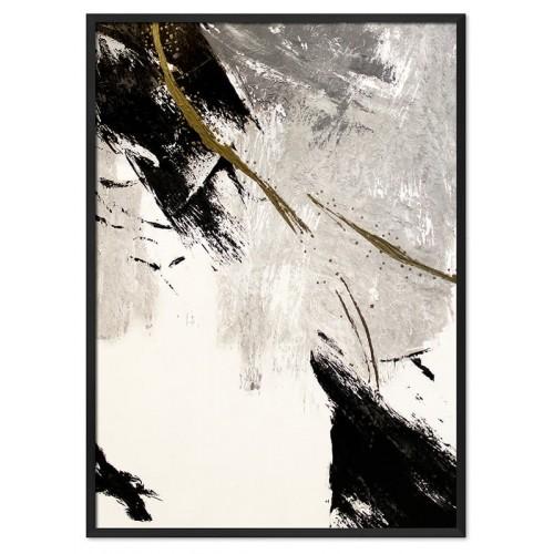 Obraz Abstrakcja Art Black 1