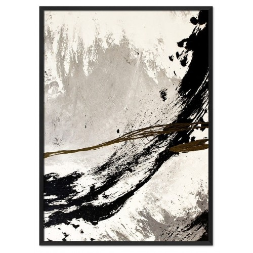 Obraz Abstrakcja Art Black 2
