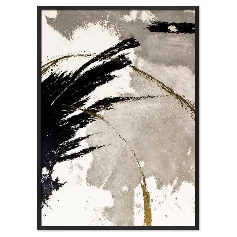 Obraz Abstrakcja Art Black 3