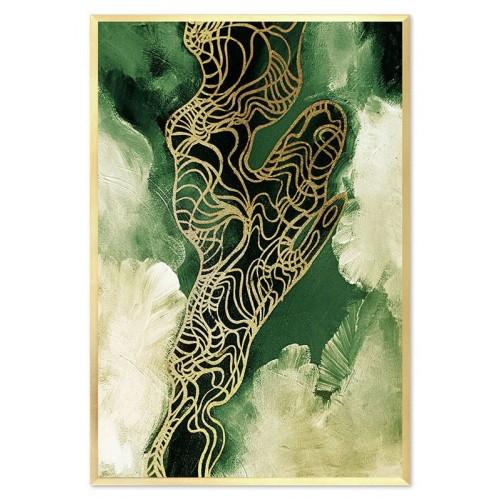 Obraz Abstrakcja Green
