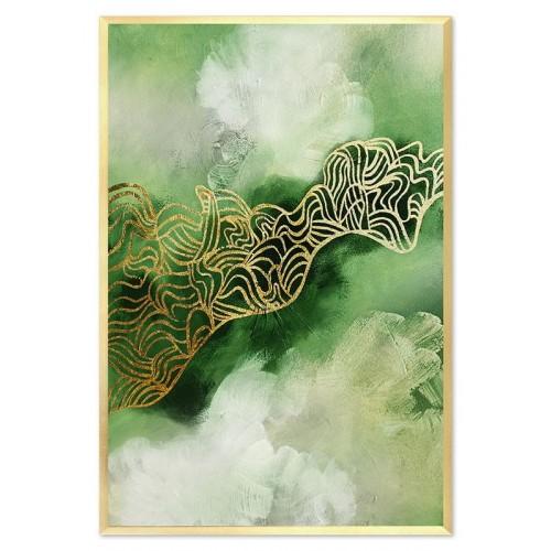 Obraz Abstrakcja Green 2