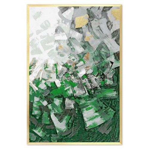 Obraz Abstrakcja Green 3
