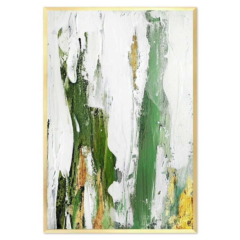 Obraz Abstrakcja Green 4