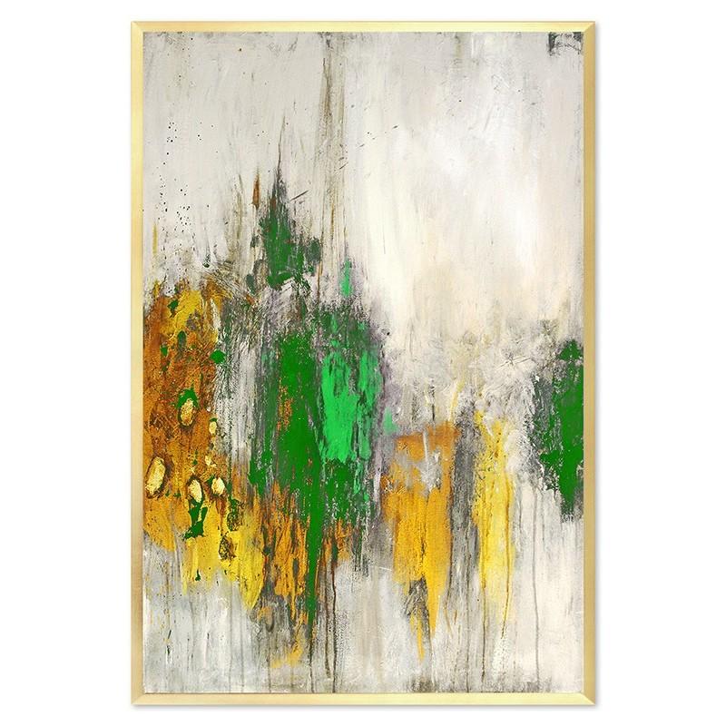 Obraz Abstrakcja Green 6