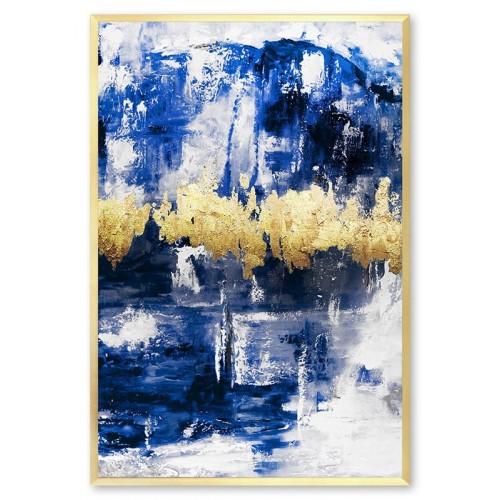 Obraz abstrakcja Blue 1
