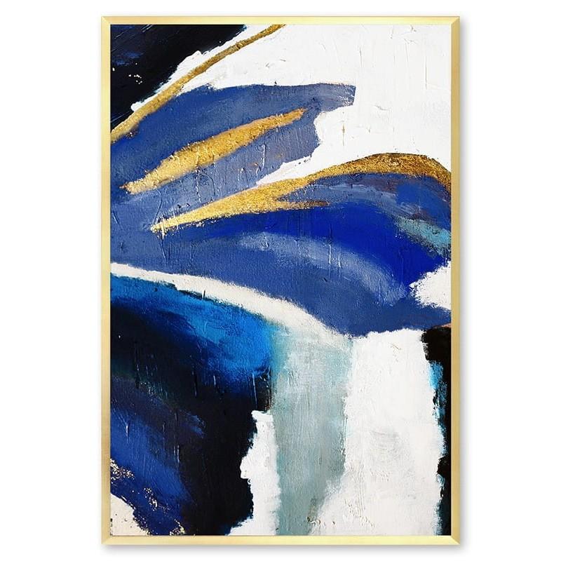 Obraz abstrakcja Blue 2