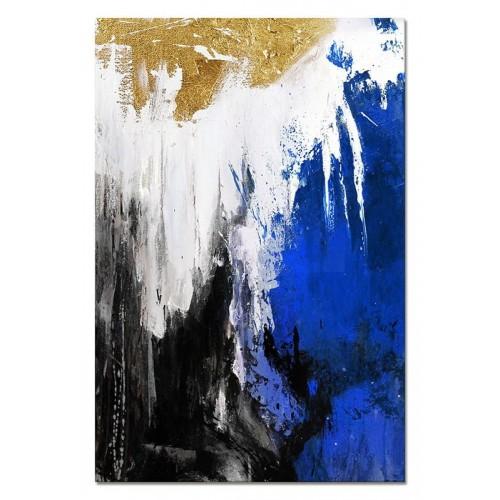Obraz abstrakcja Blue 3