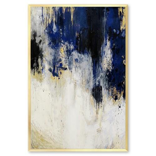 Obraz abstrakcja Blue 4