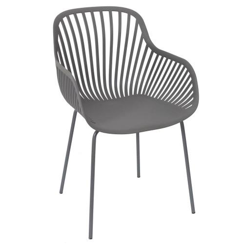 Krzesło Escar szare
