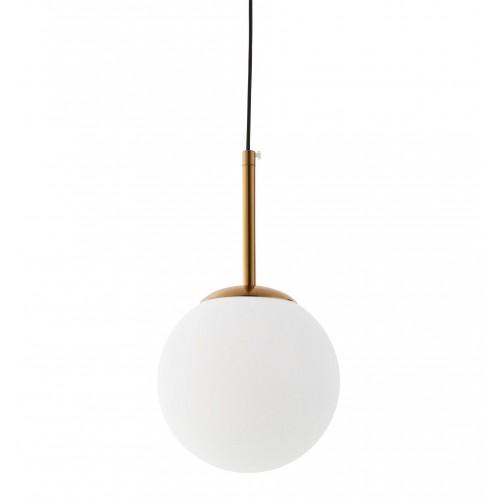 NOWOCZESNA LAMPA WISZĄCA MOSIĘŻNA FREDICA W1