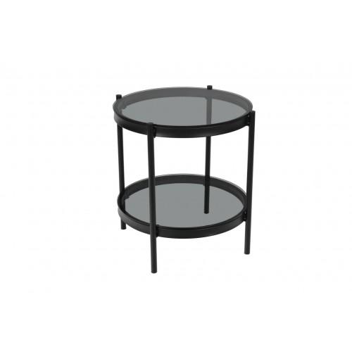 Stolik Bayonne Glass/black small