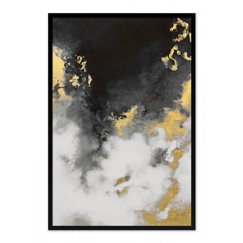 Obraz Abstrakcja Dark Moon 5