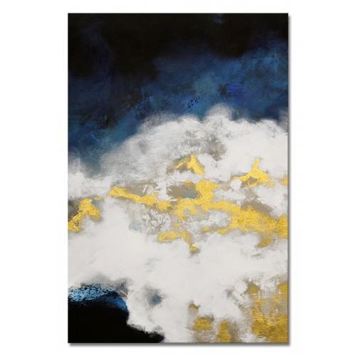 Obraz Abstrakcja Blue Moon