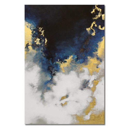 Obraz Abstrakcja Blue Moon 2