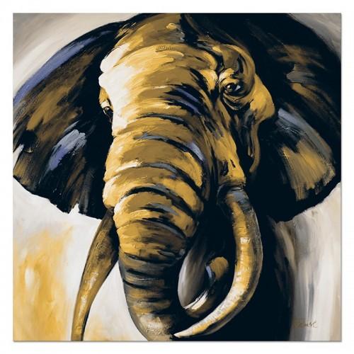 Obraz Słoń khaki