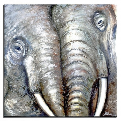 Obraz Dwa słonie