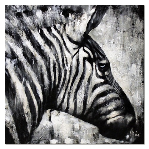 Obraz Zebra Black Art