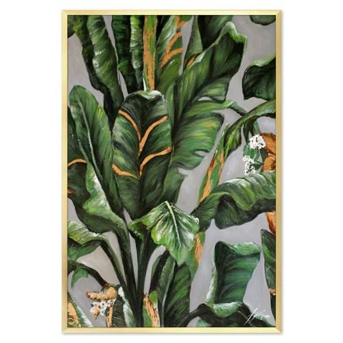 Obraz Abstrakcja Green Jungle 2