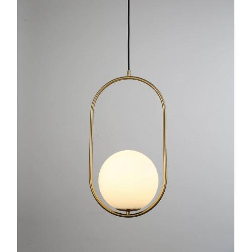 NOWOCZESNA LAMPA WISZĄCA BIAŁA PANARI D20