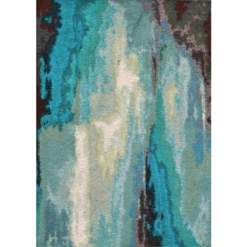 Dywan łatwoczyszczący Laguna Aqua Blue