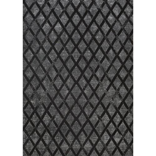 Dywan łatwoczyszczący Ferry Dark Shadow Geometric