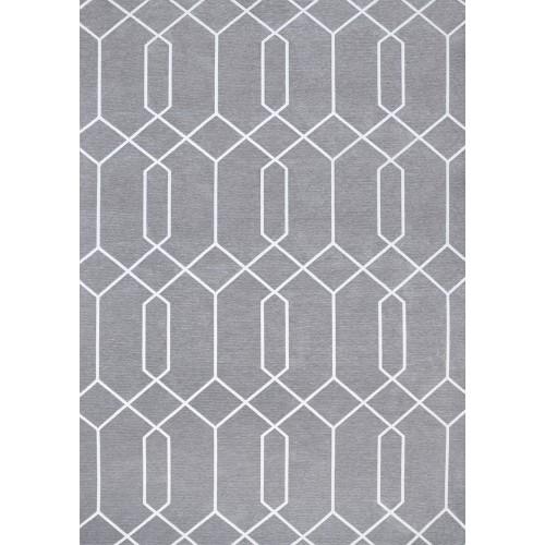 Dywan łatwoczyszczący Maroc Gray Geometric