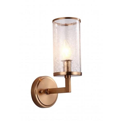 LAMPA ŚCIENNA KINKIET MOSIĘŻNY HOWARD W1