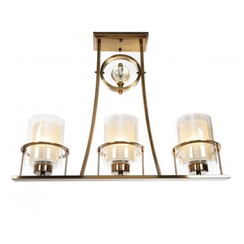 LAMPA SUFITOWA ART DECO MOSIĘŻNA BRONX W3
