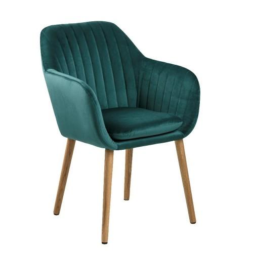 Krzesło Emilian Velvet green