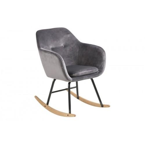 Krzesło bujane Emilian VIC dark grey