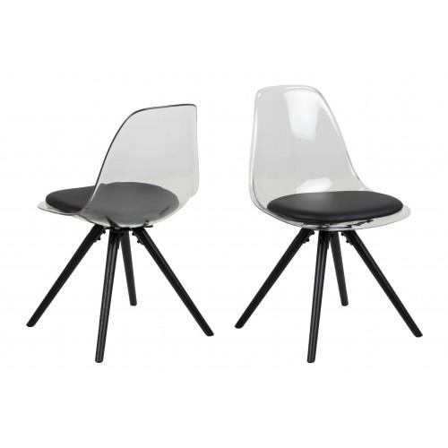 Krzesło Henric Czarne