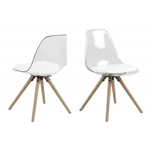 Krzesło Henric Białe