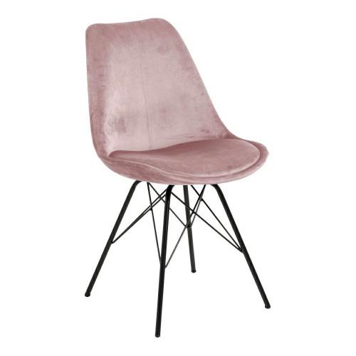 Krzesło Kris VIC różowe