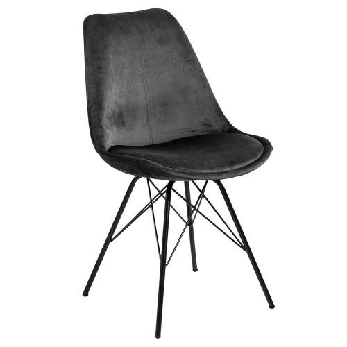 Krzesło Kris VIC szare