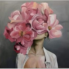 Portrety Abstrakcyjne Kobiety Kwiaty