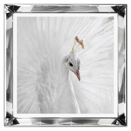 Obrazy w lustrzanych ramach
