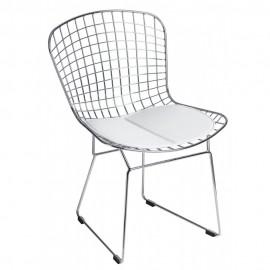 Krzesła metalowe w stylu loftowym