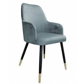 Krzesła tapicerowane metal.-termin 14 dni rob.